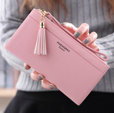 財布 レディース財布 6色から選べる レディース 女の子 韓国ファッション 財布 レディース 可愛い 小銭入れ 高級 レザー ラウンドファスナー 財布 韓国