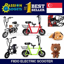 ★Local Seller★100% Authentic★[Electric Scooter] Fiido Full Set (Child Seat+Basket) LTA Compliant