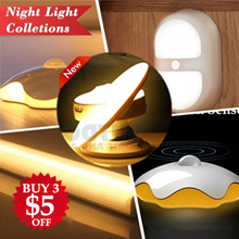 【BUY 3 GET $5 OFF】Portable Smart Auto On Off Motion Sensor / LED Bar Light / Night Light