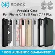 SPECK ORIGINAL SINGAPORE iPhone X / 8 / 8 Plus / 7 / 7 Plus Case! LIFETIME WARRANTY!