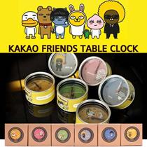 Kakaotalk / Kakao Talk / Kakao friends/カカオトークカカオフレンズ置時計時計キャラクター時計特価割引販売インテリア効果ギフトお勧めします。TUBE APEACH JAY-G NEO PRODO