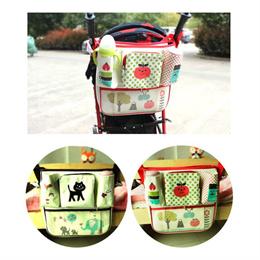 Stroller Organizer Diaper Bag Pram Carrier Baby Pouch Animals Stroller Organiser Compact New Design