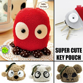 New! Cute Key Pouch/Organizer Bag Decoration/iPad Laptop Pouch