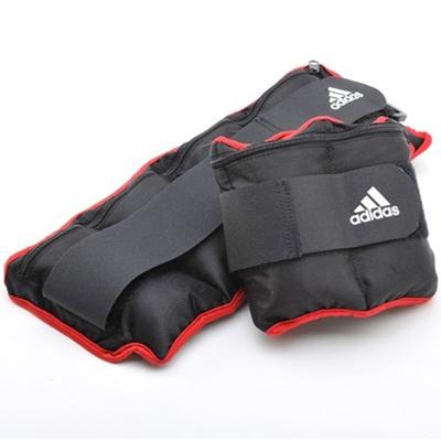アディダス(adidas) アジャスタブル・アンクル/リストウエイト プレート 0.25kg×8個 ADWT-12229 【筋トレ トレーニング ウォーキング 足首 手首】の画像