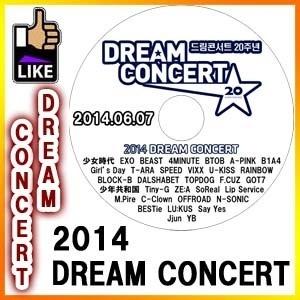 【韓流DVD K-POP DVD 韓流グッズ 】 DREAM CONCERT ドリームコンサート [2014.06.07] 韓国 DVDの画像