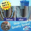 ☆BUY 1 GET 2 FREE☆ Sani Sticks Drain Cleaner Stain Sticks Deodorant Sewer Toilet Kitchen Bath Sewer