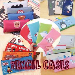 Cute Pencil Cases Pens School Student Teacher Kids Boy Girl Goodie Bag Stationery Organiser Hero