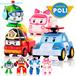 2015 Christmas Gift 4pcs/Set Robocar Poli Robot Car Transformation Toys Robocar Poli Toys In Original Boxes Best Gifs For Kids(Stock In SG)