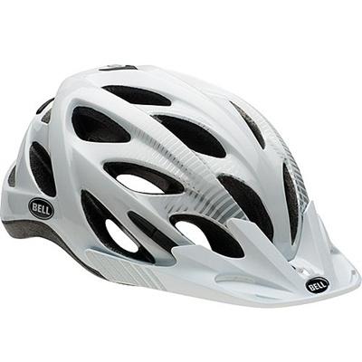 ベル(BELL) ヘルメット MUNI / ミューニー URBAN ホワイト/シルバーヴィス M/L/54-61cm 【自転車 サイクル レース 安全 二輪】の画像