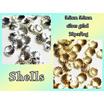 シェル 貝殻 メタルパーツ 20個 ネイルパーツ ラグーンネイルに