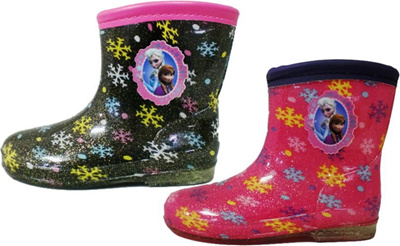 (A倉庫)ディズニー アナと雪の女王 6698 子供長靴 キャラクター レインシューズ キッズ レインブーツ 女の子の画像