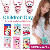 +FREE GIFT [Korean Hot Trend] Lanyard Card Holder / Neck Wallet / Cow leather ID HOLDER