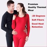 Premium Quality Winter Thermal Inner Wear Shirt + Pants * -20 Degrees * High Quality * Inner Fiber