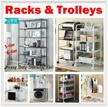 【Local Stock!】【Multi-Purpose Racks/Organizers/Shelving】Kitchen★Service yard★Storage room★Bathroom
