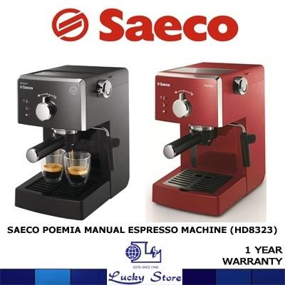 Saeco Coffee Maker User Manual : Qoo10 - PHILIPS SAECO MANUAL ESPRESSO MACHINE * POEMIA HD8323 * 15 BAR PUMP * ... : Home Electronics