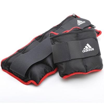 アディダス(adidas) アジャスタブル・アンクル/リストウエイト プレート 0.5kg×8個 ADWT-12230 【筋トレ トレーニング ウォーキング 足首 手首】の画像