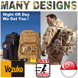 Outdoor ARMY Military Tactical Backpack Rucksacks Camping Trekking Bag HAVERSACK 511/911/999/SWAT POLICE/SPECIAL FORCES/COOLSTUFF