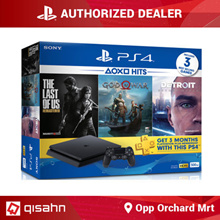 Playstation 4 Slim 500GB Bundles // Hits / Party Bundle // Local Set Warranty