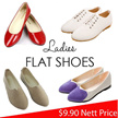 $9.90 1 PRICE FOR ALL buy 2 free shipping ladies fashion flat shoes 35-43 plus size