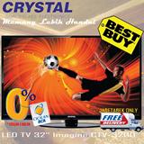 CRYSTAL LED TV 32 Imagine CTV-3200|BEST BUY|FREE DELIVERY JADETABEK ONLY
