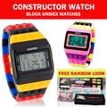 Jam Tangan Digital Unisex Pria dan Wanita Constructor Style // FREE LOOM BAND
