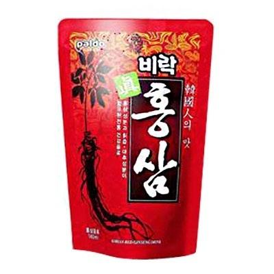 『ビラク』眞紅参|ホンサムエキス(140ml)[健康飲料][韓国ドリンク][韓国飲料][韓国飲み物][韓国食品]の画像
