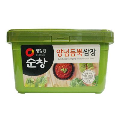 【韓国食品・韓国調味料】 ■スンチャン味付け味噌(サムジャン)1kg■の画像