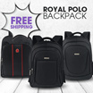 SUPER HOT CLEARANCE SALE PROMO ROYAL POLO BACKPACK!100% ORIGINAL!SATISFACTION GUARANTEE!