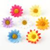 花飾り ひまわり フラワーヘッド アクセサリーDIY/インテリア/ハンドメイド/アート/コサージュ/ヘアアクセサリー