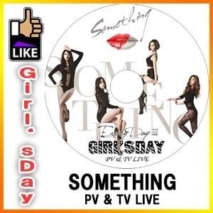 Girls Day SOMETHING PV  TV LIVE ◆K-POP DVD◆ ガールズデイ ソジン ユラ ミナ ヘリの画像
