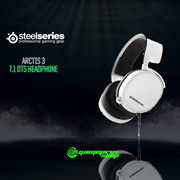 STEELSERIES ARCTIS 3 WHITE 7.1 DTS HEADPHONE - 2019 EDITION