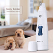 SAVFY Pet Nail Grinder  Electric Pet Grooming Paws Grooming Trimmer  Clipper  Tool  Medium and Small Pets animals / Dog Cat