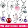 925 Silver Necklace/Silver Pendant/fashion Necklace /fashion Pendant collection