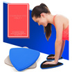 Pair Yoga Exercise Bodybuilding Fitness Core Traning Sliding Gliding Discs Sports Equipment