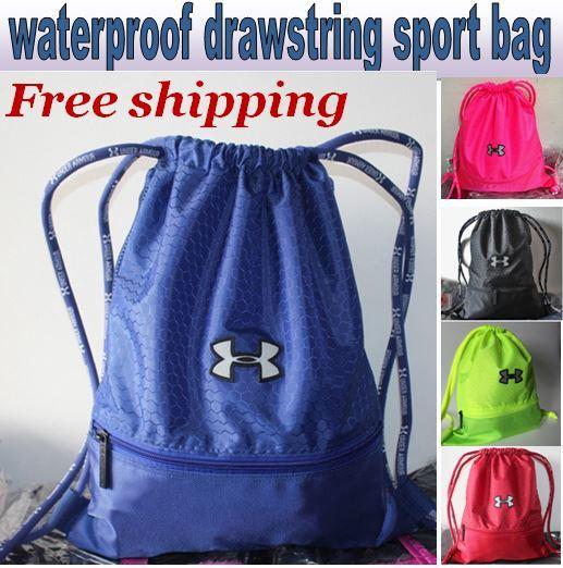 6b55b589258b UNDER ARMOUR Waterproof Drawstring Bag Drawstring pouch premium quality  Unisex Sports bags sport Backpack Travel Bag Shoe Bag Shoulder Bag  Soccer  bag  ...