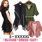 S..5XL)plus size dress/blouse/jacket/suit/summer jacket/summer dress