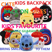 {IDEAL FOR KIDS} KIDS BACKPACK BAG MANY DESIGNS UP TO AGE 5 YEARS SOFT LIGHT