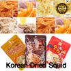 ★☆CNY GIFT☆★[Geumhan Dried Squid] Worlds favourite refreshments ! snack !Peanut butter/Smoked/Spicy