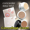 [MALU WILZ]*Camouflage cream*/ also suitable for sensitive skin / highly resistant / waterproof / birthmarks port-wine stains thread veins acne scars and tattoos / long-lasting