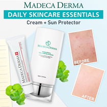 [Daily Care]Madeca Cream 50ml+Sun protector 60ml. FREE MASK SHEET. upgrade skin condition!