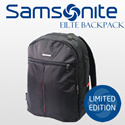 100% Authentic Samsonite Elite Backpack / 15inch Laptop Backpack / Bag /Classic BLACK color available / Unisex / Decent quality / Waterproof /By IDEAS FOR LIFE