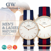 *DANIEL WELLINGTON* Daniel Wellington Nato and Leather Strap Watches! For Men and Ladies. Classic Classy Dapper Series FREE BOX Free Shipping and Warranty!