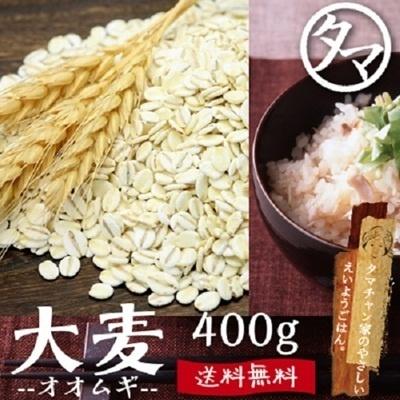 TVアサイチで特集!【送料無料】九州産 大麦 (400g)食べる食物繊維の宝庫な食材。注目される第6の栄養素とされる食物繊維を豊富に含んだ食材。炊飯や料理にお使い頂けます。の画像