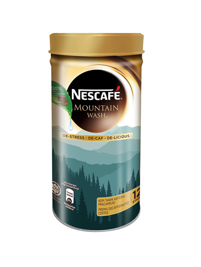 Nescafe cannister