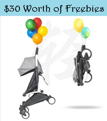 FREE GIFTS★2017 Pro Version★Babytime Baby Cabin Travel Stroller Easy for Travel