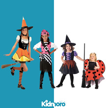 Girls Halloween Costumes Witch Dress Party Dress Fairy Dress with Wings Pirate Girl Christmas Dress