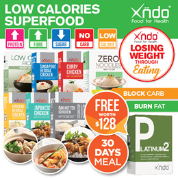 [DAILY DEAL ONLY $170] Bundle of 30 Meals + FREE 1 Platinum [Worth $159]