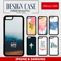 ★DESIGN PHONE CASE★ IPHONE 7 / 7PLUS 5/5S/SE/6/6PLUS AND SAMSUNG S4/S6/S7/S7E/S8/S8+ NOTE 5