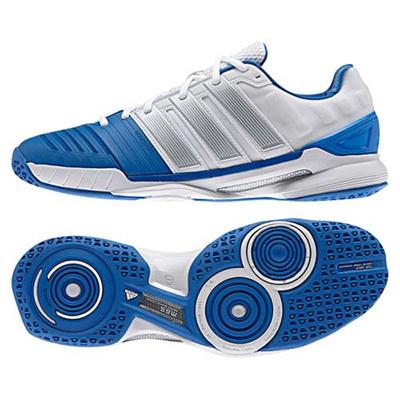 アディダス(adidas) アディパワースタビル adipower stabil 11 RUNWHT/SLV M29549 【ハンドボール シューズ メンズ レディース インドア】の画像