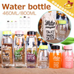 Hot selling in Korea▶High Borosilicate Water Bottle◀GEB -Sports/Office/Home/Portable and Healthy/High Quality/2 capacity/With Bottle Bag